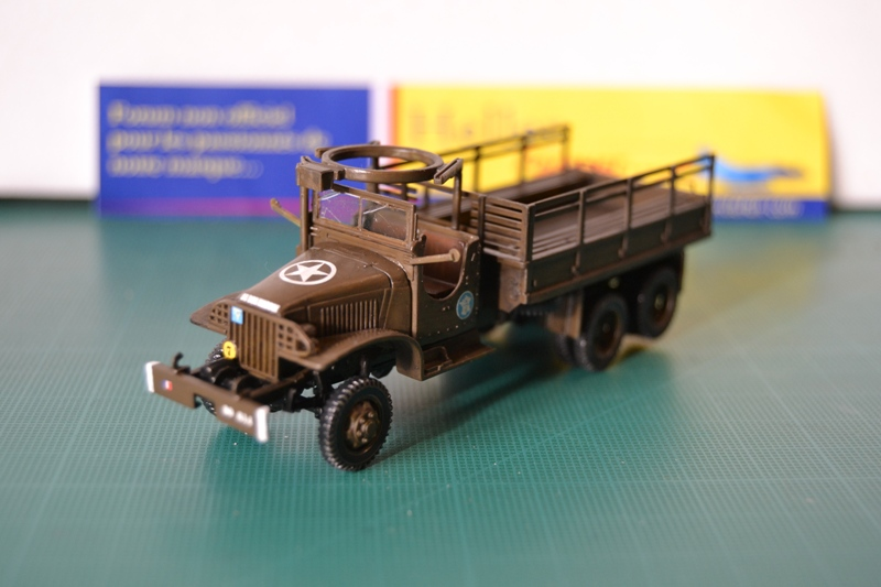 "La 2ème DB ""Jeep - GMC CCKW353 - Sherman M4a2""  [Heller 1/72] - Page 3 Dsc_0204"