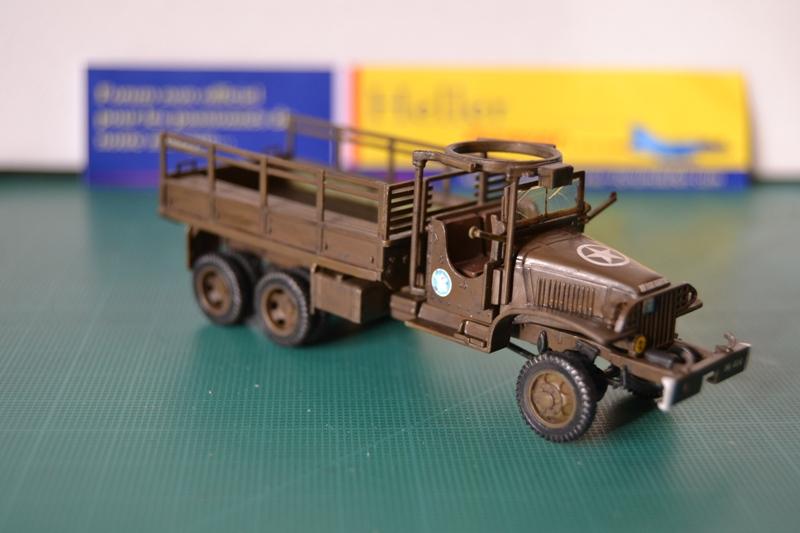 "La 2ème DB ""Jeep - GMC CCKW353 - Sherman M4a2""  [Heller 1/72] - Page 3 Dsc_0206"