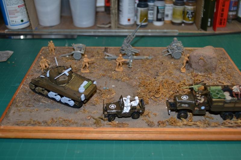 "La 2ème DB ""Jeep - GMC CCKW353 - Sherman M4a2""  [Heller 1/72] - Page 3 Dsc_0215"