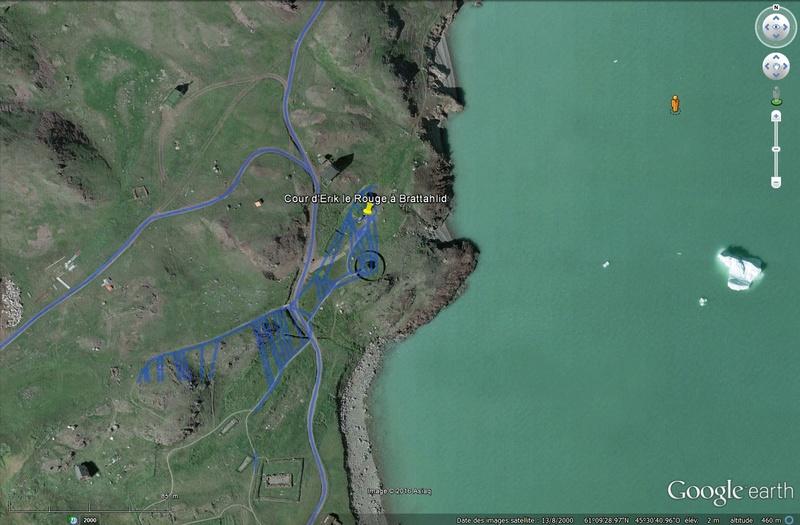 Traversée d'Qassiarsuk vers Narsarsuaq, Kujalleq au Groenland. Tsge_059
