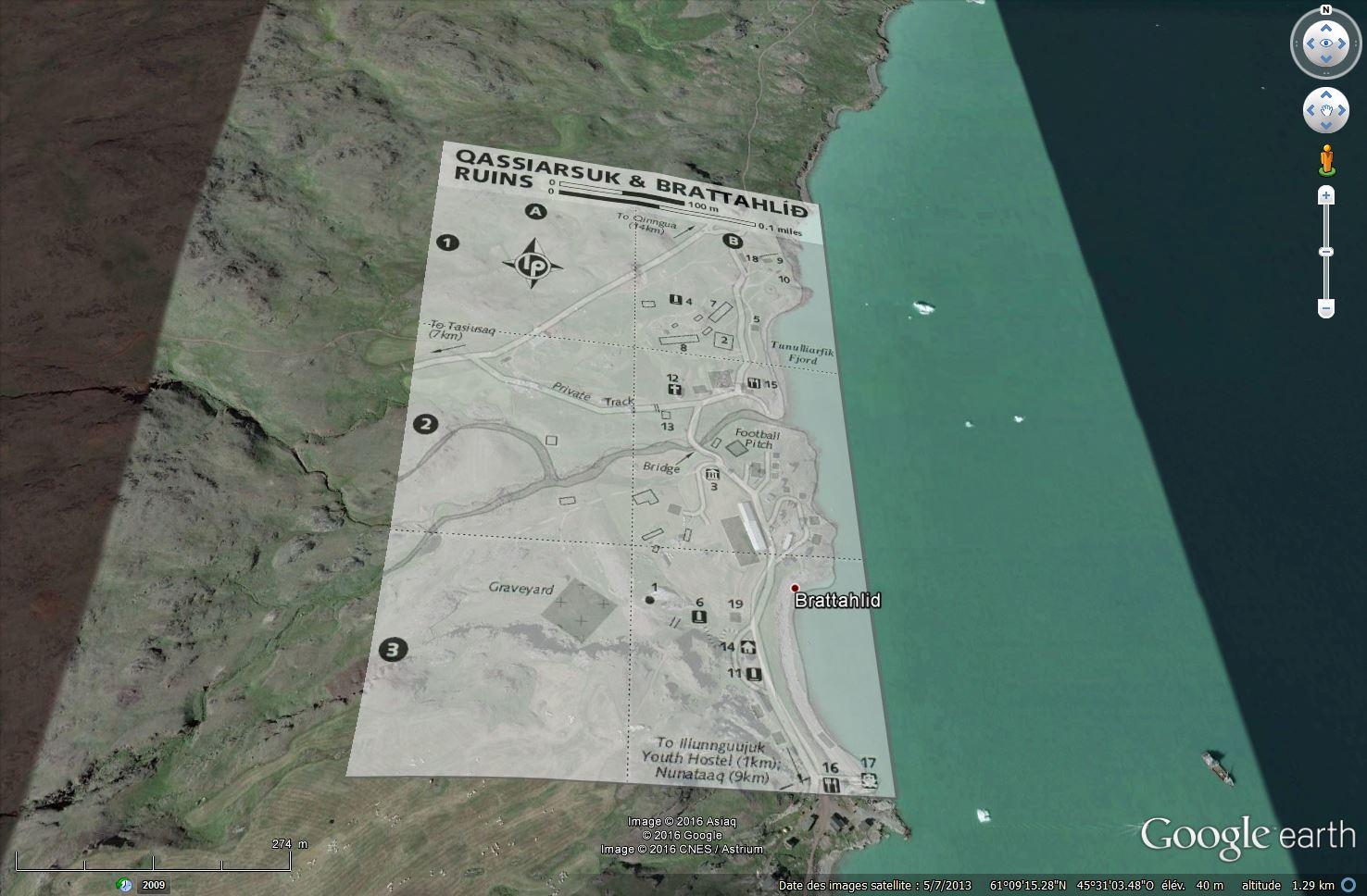 Traversée d'Qassiarsuk vers Narsarsuaq, Kujalleq au Groenland. Tsge_067