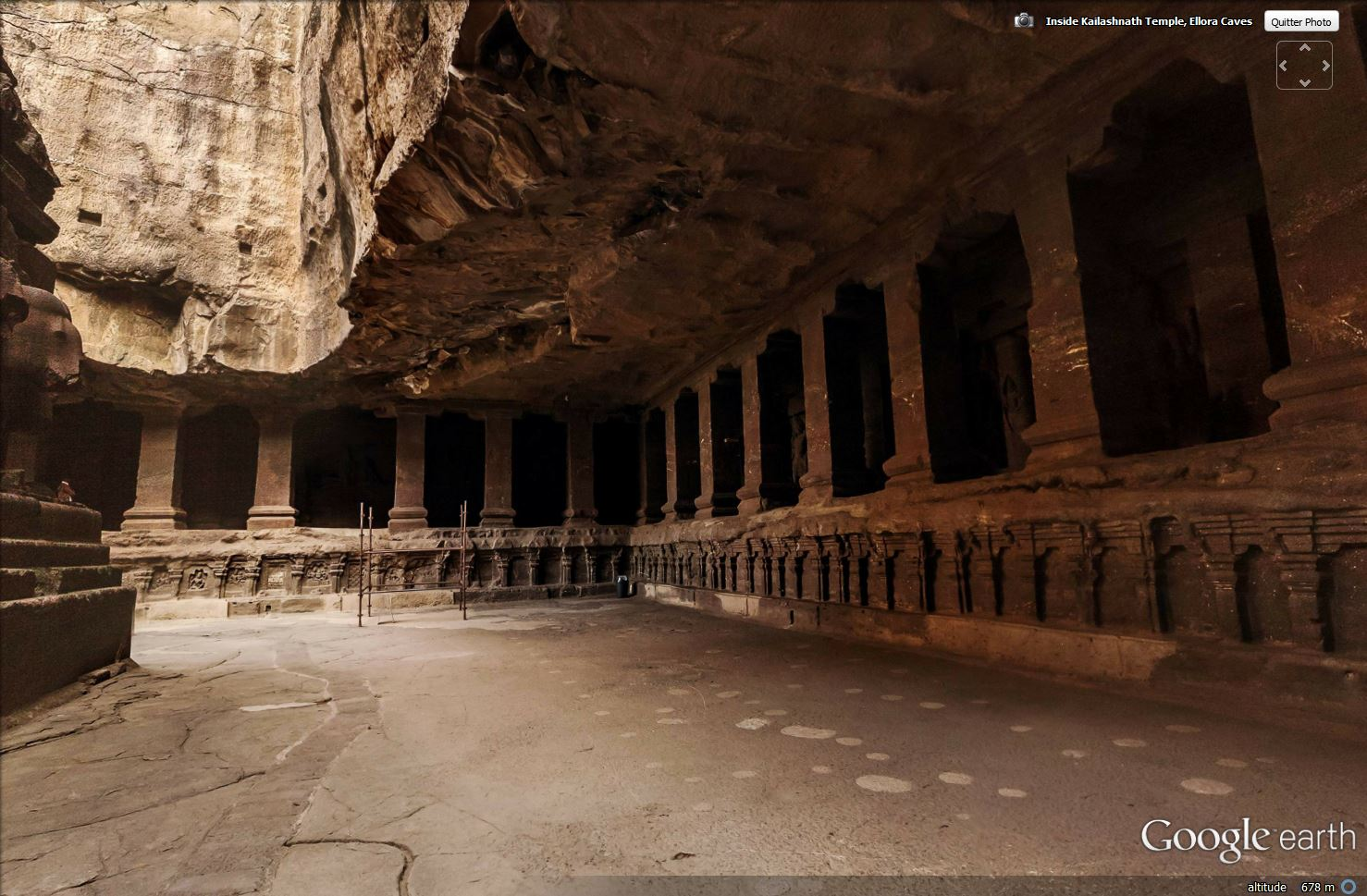 Temple de Kailasa et grottes de Ellora (Inde) Tsge_118