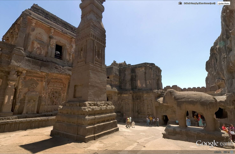 Temple de Kailasa et grottes de Ellora (Inde) Tsge_120
