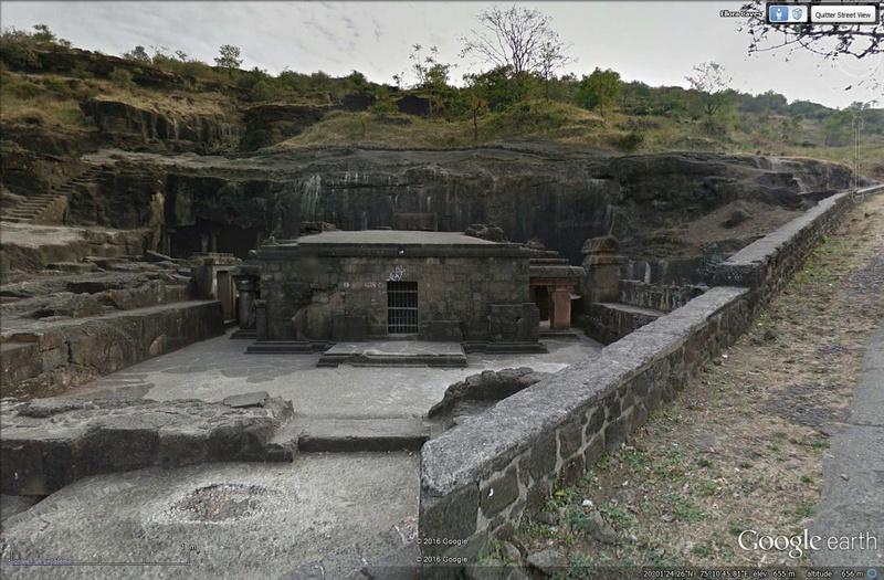 Temple de Kailasa et grottes de Ellora (Inde) Tsge_124