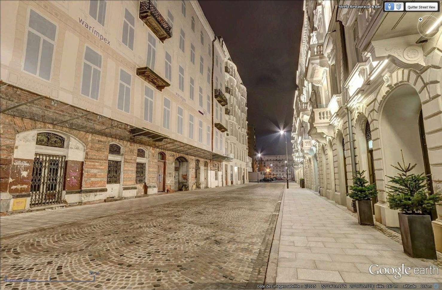 La rue Prozna - Varsovie - Pologne Tsge_169