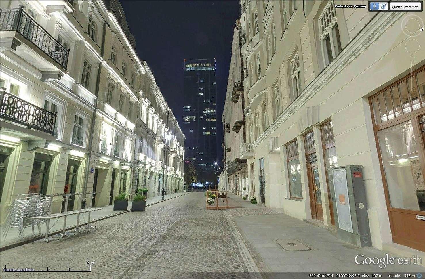 La rue Prozna - Varsovie - Pologne Tsge_170