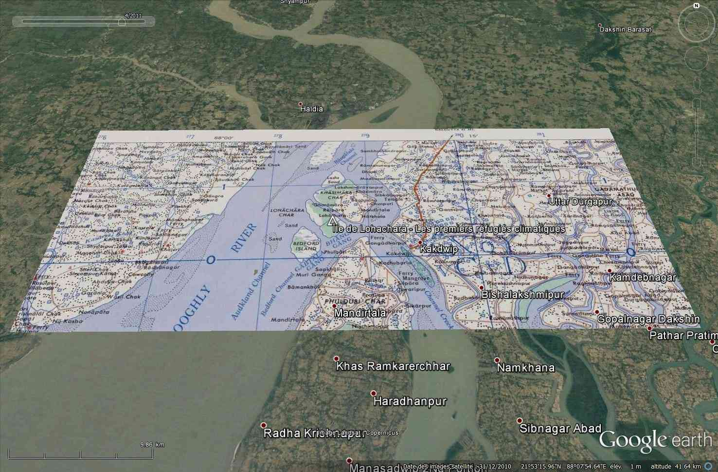 Ile disparue - Lohachara - Delta du Gange - Inde Tsge_216