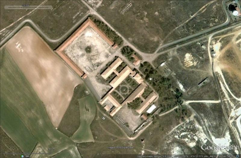 Caserne Gyruss, Villanubla, Valladolid - Espagne Tsge_222