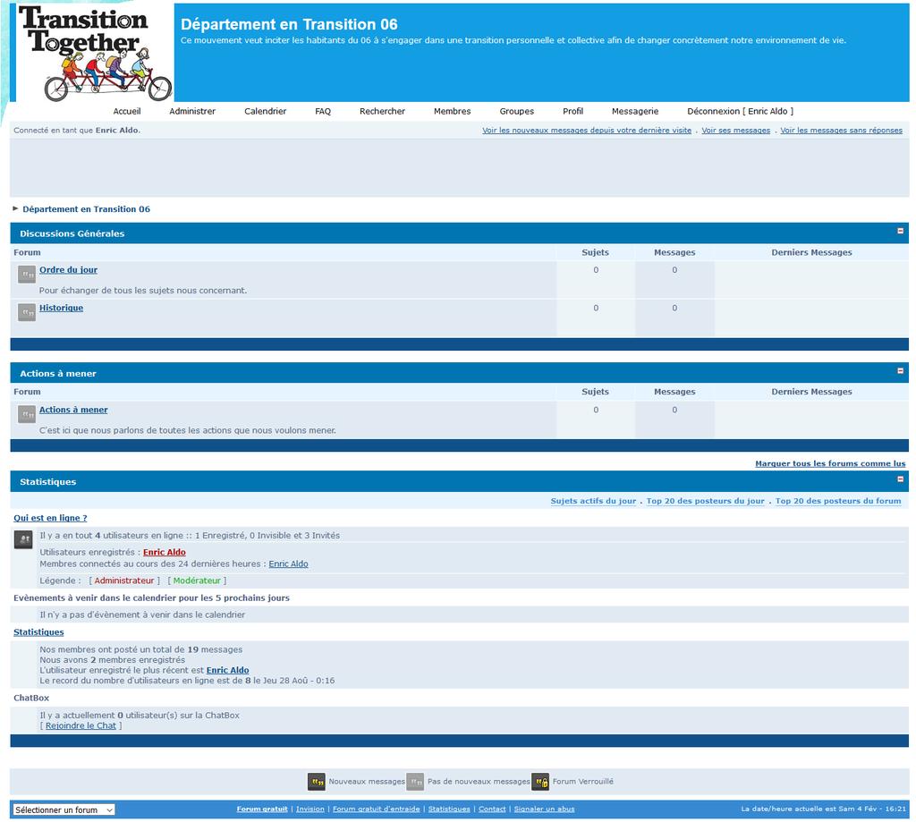 Amélioration du forum Exnews10