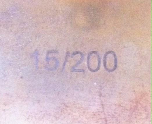 Dash plaque Bug In 35 15337310