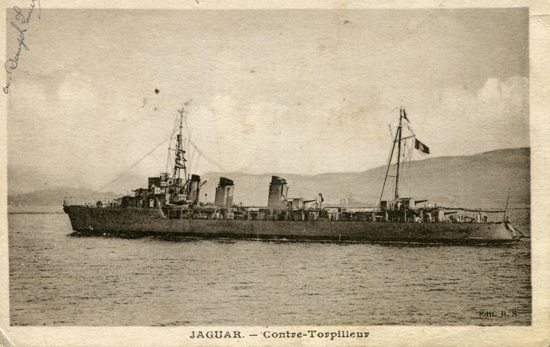 Les contre-torpilleurs français Jaguar10