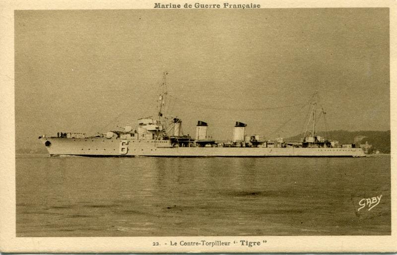 Les contre-torpilleurs français Tigre10