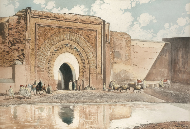 Les Peintres Orientalistes 2 - Page 16 Bab_ma10