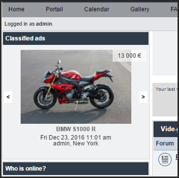 New Classified ads widget 23-12-13