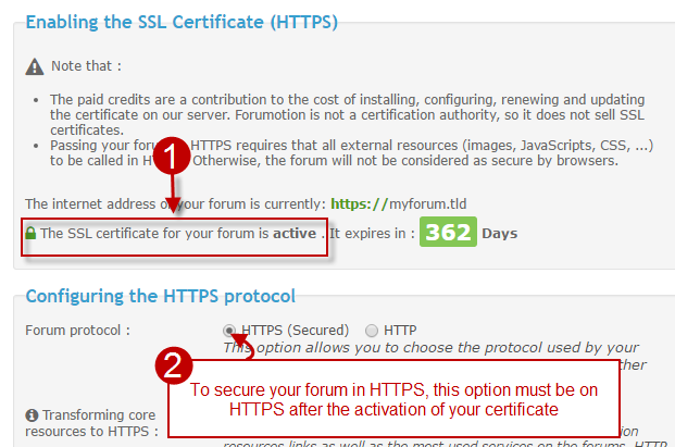 SSL Certificate: Guide for a success forum migration to HTTPS Forum-10