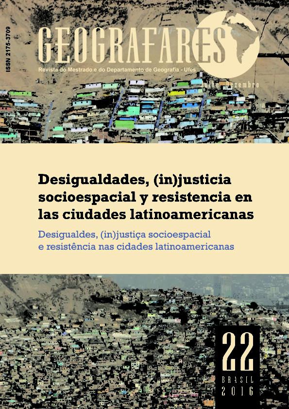 Desigualdades, (in)justicia socioespacial y resistencia en las ciudades latinoamericanas: en couverture Cover_10