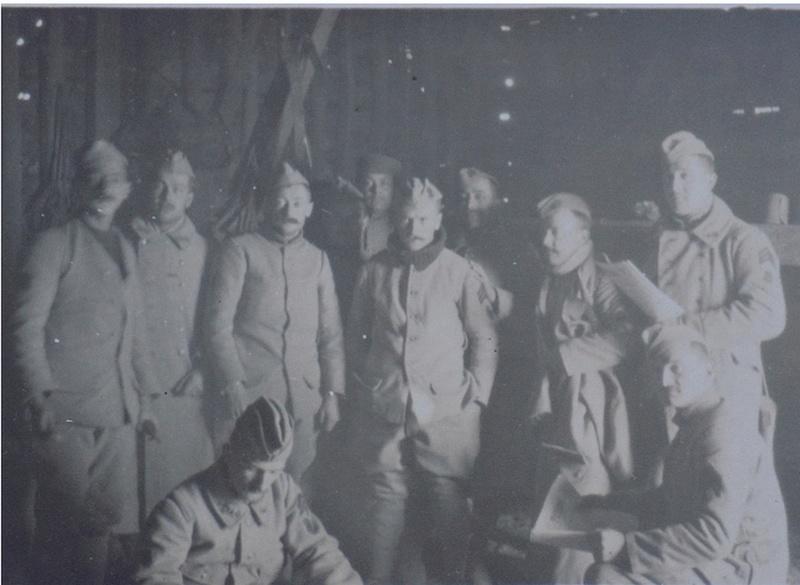 Un cantonnement en 1917 Canton11