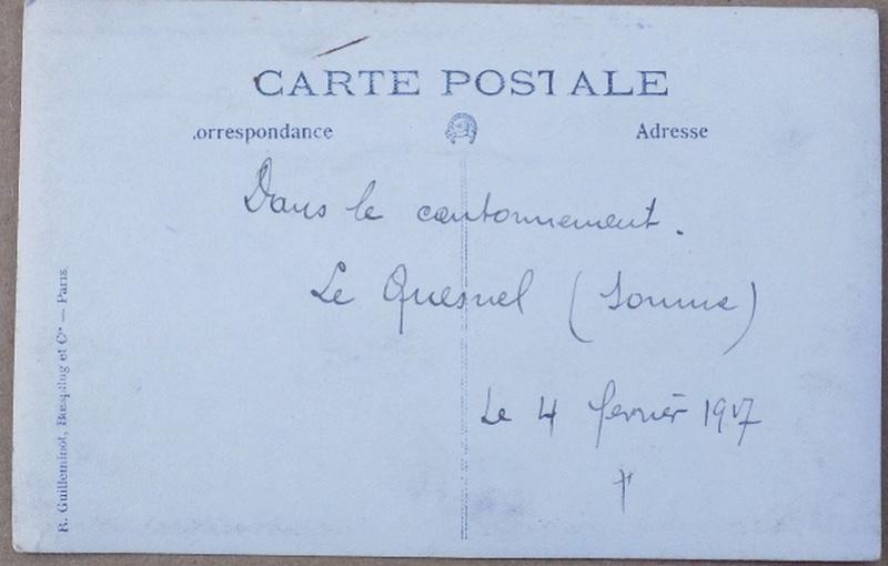Un cantonnement en 1917 Canton12