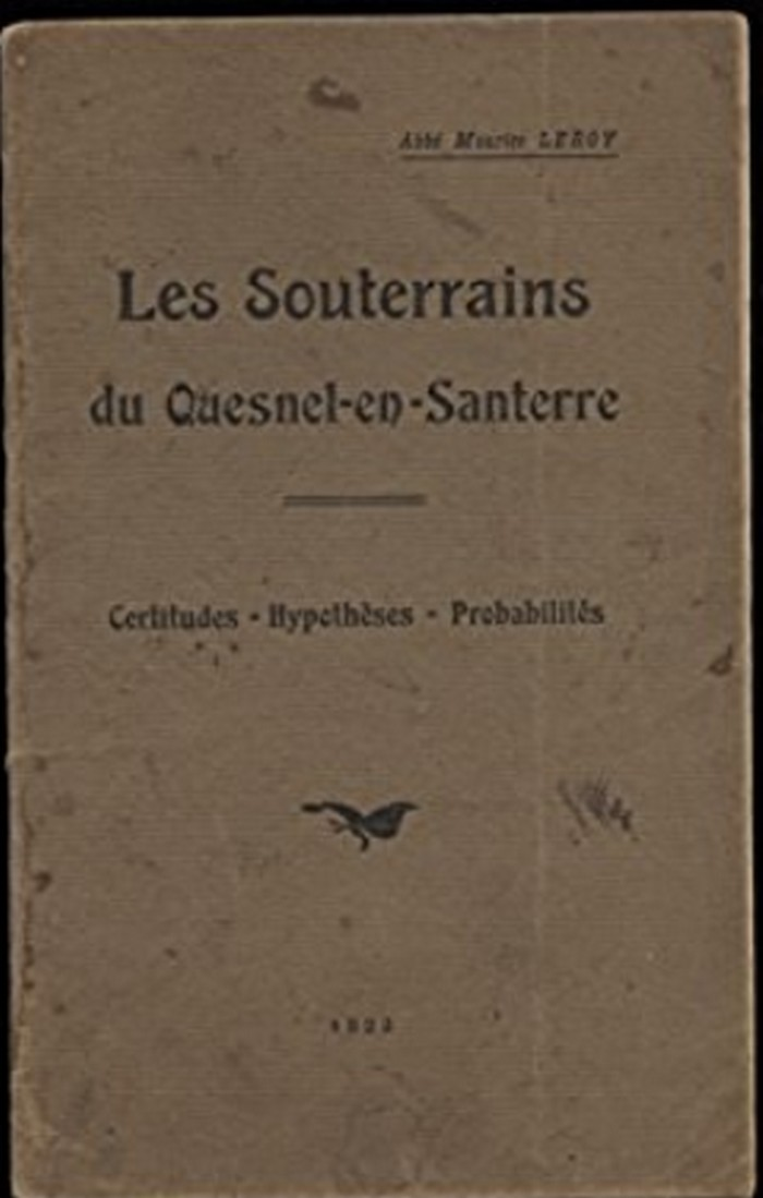 Les sous terrains  refuges de Le Quesnel (souterrains) Livre_10