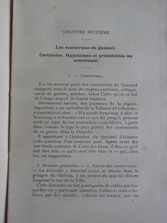 Les sous terrains  refuges de Le Quesnel (souterrains) P1200311