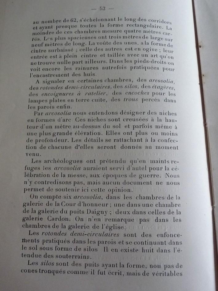 Les sous terrains  refuges de Le Quesnel (souterrains) P1200314