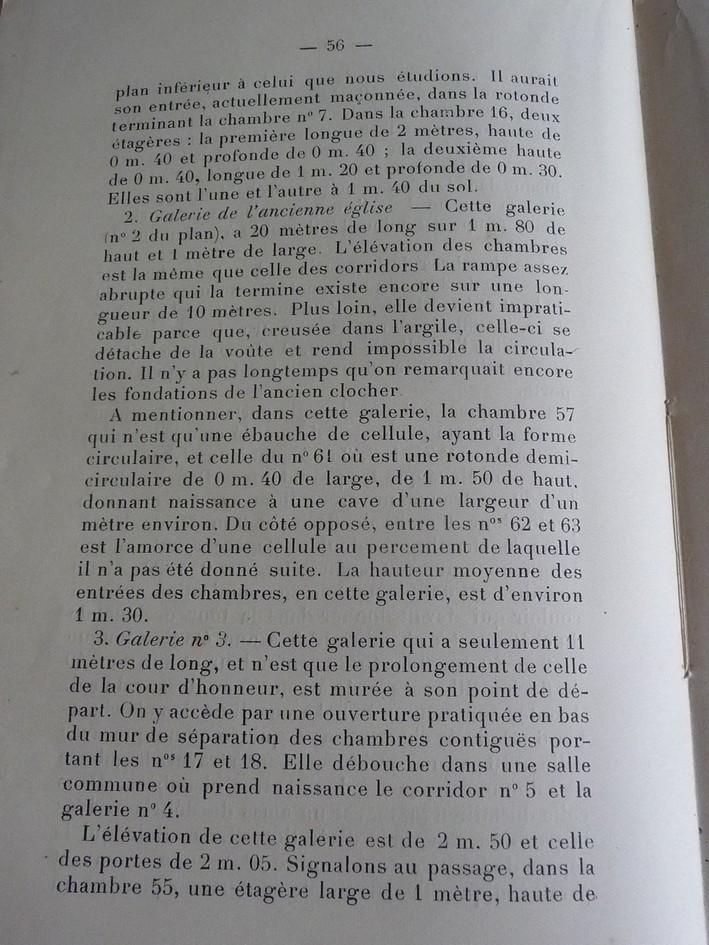 Les sous terrains  refuges de Le Quesnel (souterrains) P1200320