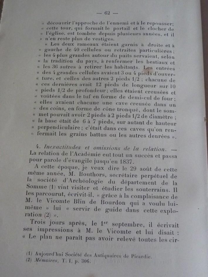 Les sous terrains  refuges de Le Quesnel (souterrains) P1200326