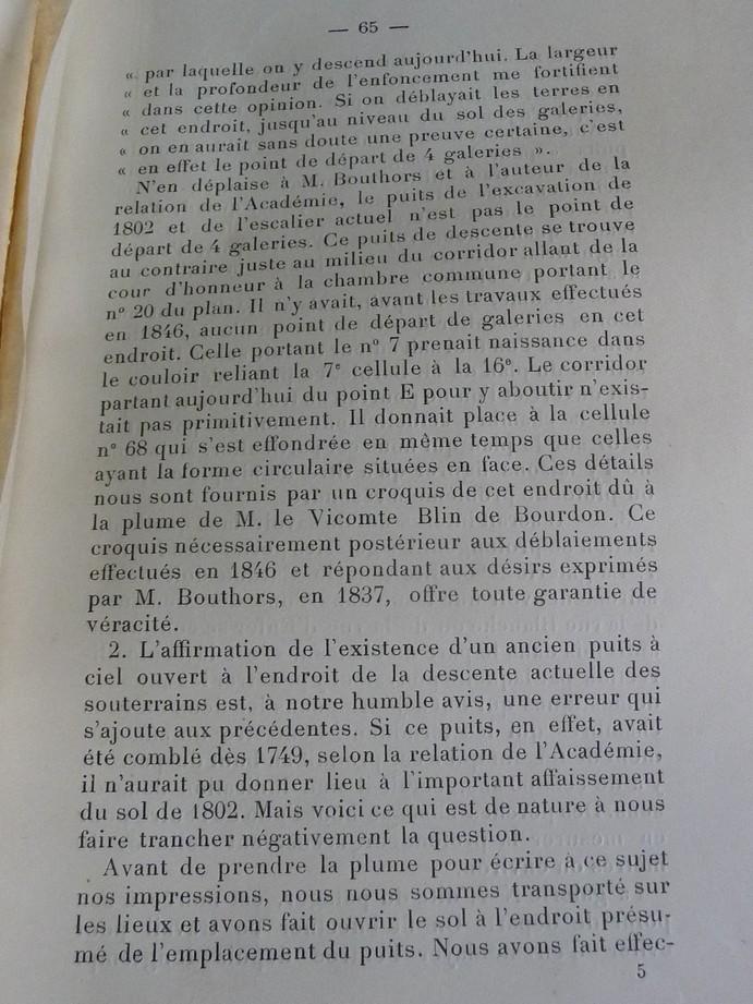 Les sous terrains  refuges de Le Quesnel (souterrains) P1200329