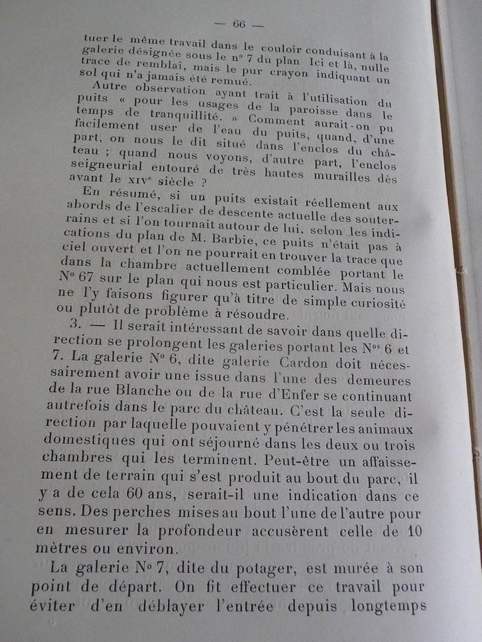 Les sous terrains  refuges de Le Quesnel (souterrains) P1200330