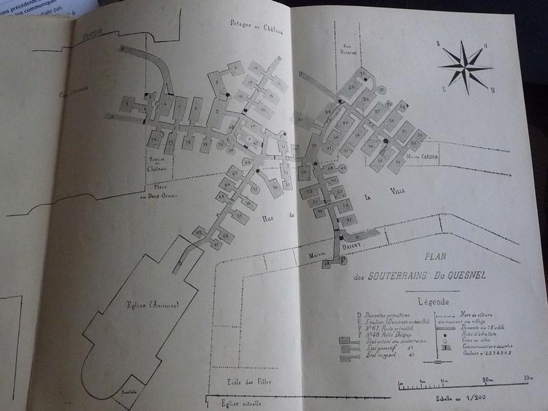 Les sous terrains  refuges de Le Quesnel (souterrains) P1200331