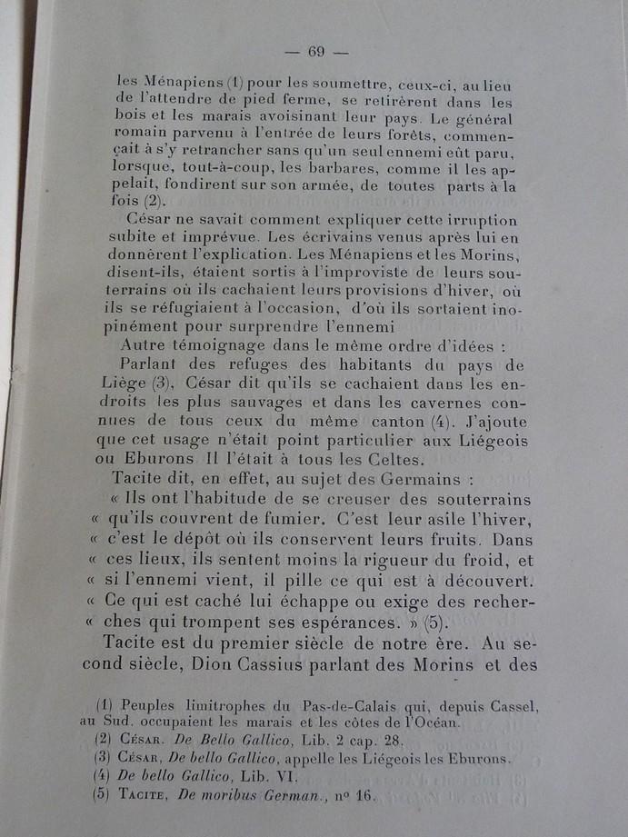 Les sous terrains  refuges de Le Quesnel (souterrains) P1200334