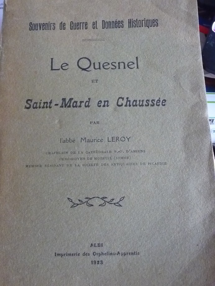 Les sous terrains  refuges de Le Quesnel (souterrains) P1200343