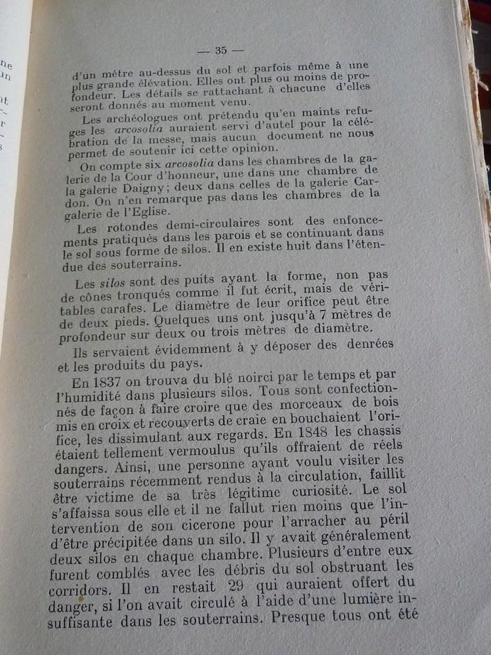 Les sous terrains  refuges de Le Quesnel (souterrains) P1200348
