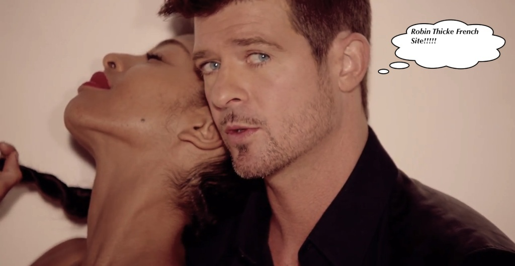 Robin Thicke French Site