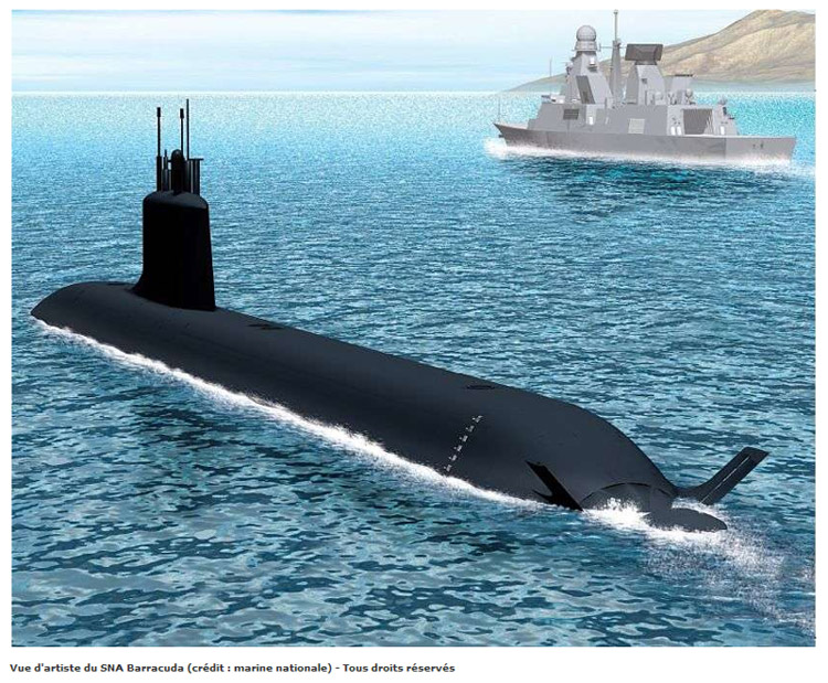 Sous-marin Barracuda (Classe Suffren) : les news 13310610