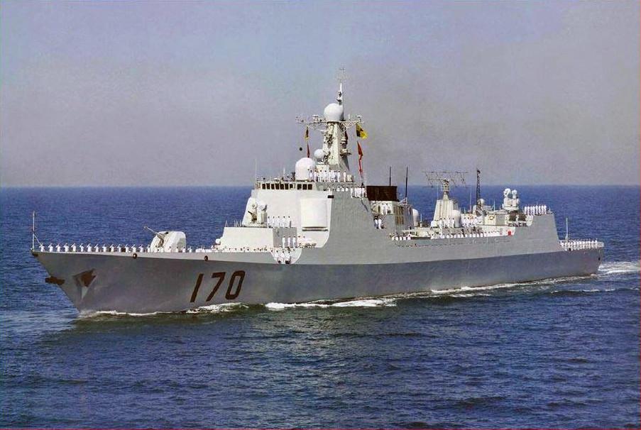 Marine chinoise - Chinese navy Luyang10