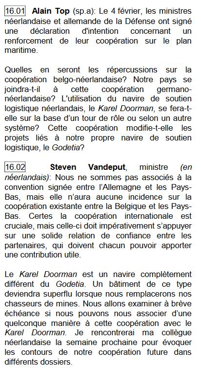 Plan stratégique et marine belge horizon 2030 - Page 6 Plan4a10
