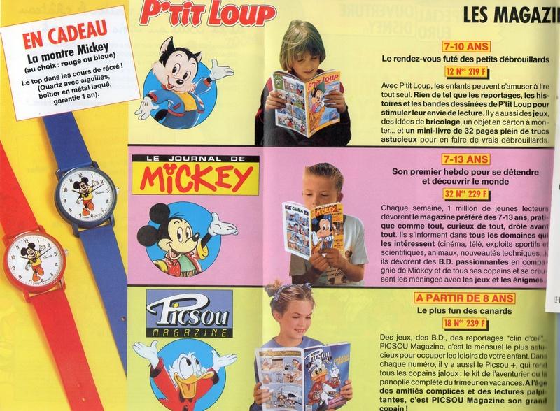 Les produits dérivés du Journal de Mickey et Picsou Magazine! - Page 2 Gagnez10