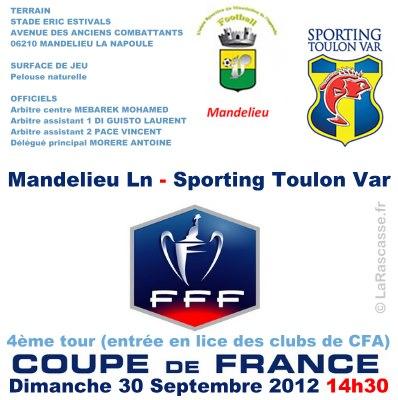 Le tirage du quatrième tour de coupe de France 54827510
