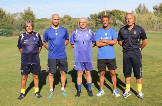 Le staf du Sporting Toulon Var Cache_15