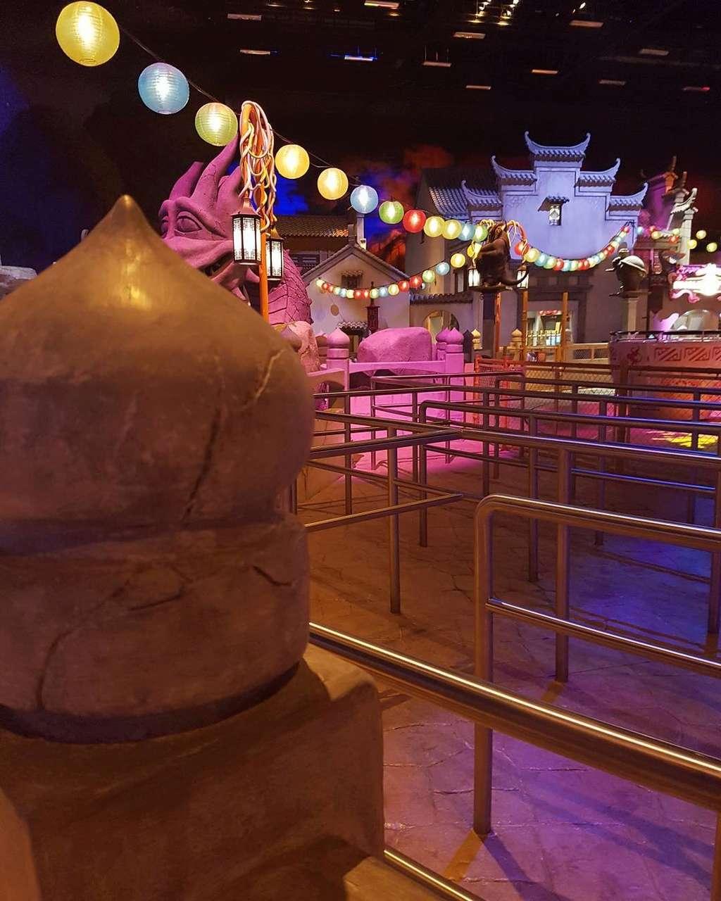 [ÉAU] Dubai Parks & Resorts : motiongate, Bollywood Parks, Legoland (2016) et Six Flags (2019) - Page 6 Kungfu12