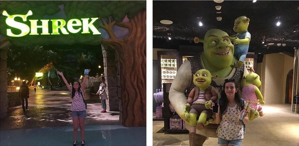 [ÉAU] Dubai Parks & Resorts : motiongate, Bollywood Parks, Legoland (2016) et Six Flags (2019) - Page 6 Shrek210