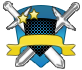 Blue shields badges 238