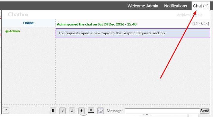 Chat box  Scree156