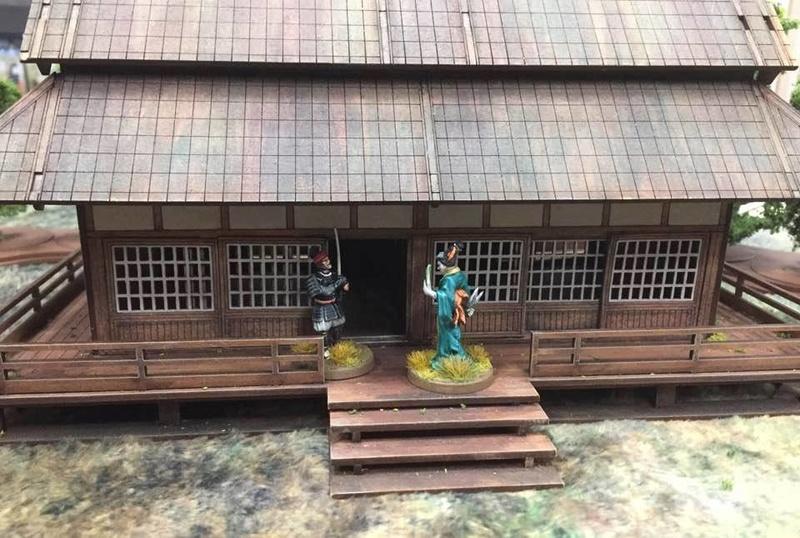 Ronin, jeu d'escarmouche au temps du japon mèdieval 16406410