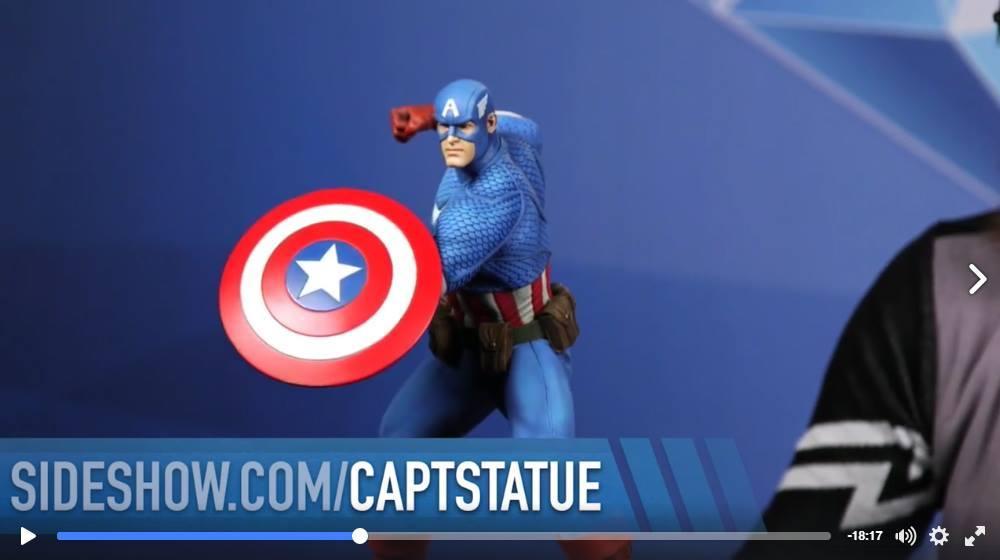 CAPTAIN AMERICA– Avengers Assemble Statue 15123310