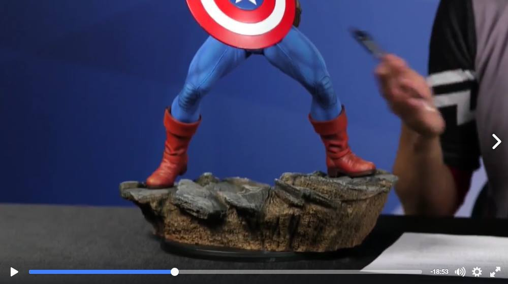 CAPTAIN AMERICA– Avengers Assemble Statue 15129410
