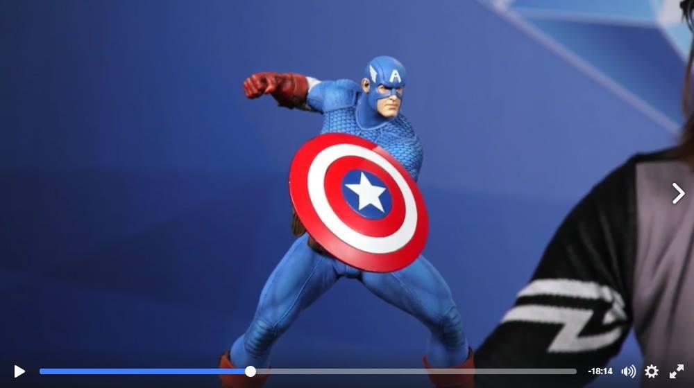 CAPTAIN AMERICA– Avengers Assemble Statue 15137510