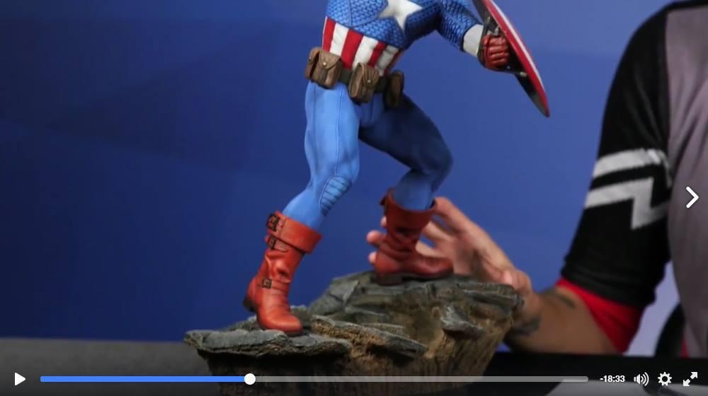 CAPTAIN AMERICA– Avengers Assemble Statue 15137511