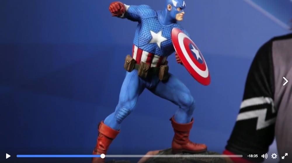 CAPTAIN AMERICA– Avengers Assemble Statue 15137610